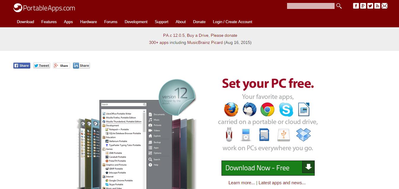 PCを選ばず作業するためのUSBポータブルアプリ