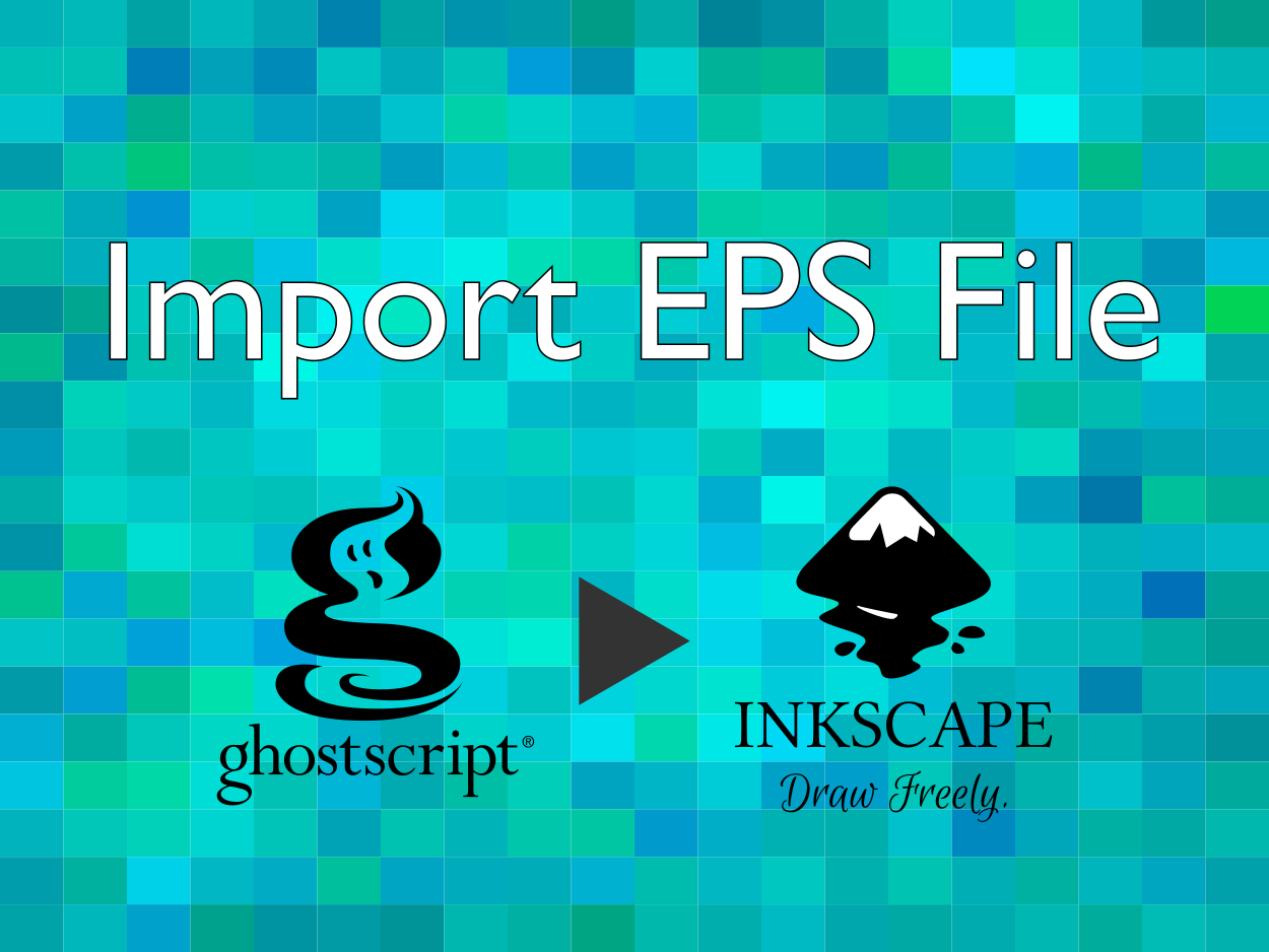 InkscapeでEPSファイルを読み込むための設定手順